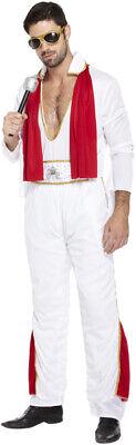 Men's Rock Star Costume Rock N Roll 60s 70s Music Adult Fancy Dress Stag Night - 60's Rock Star Kostüm