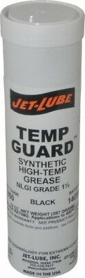 Jet-Lube 14 oz. Cartridge High & Low Temperature Bearing Grease Graphite, Mol...