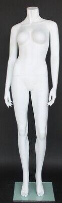5 Ft 5 In H Headless Female Mannequin Matte White New Style Mannequin Stw105wt