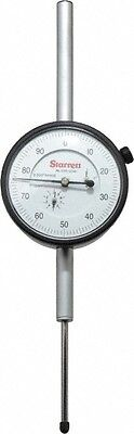 Starrett 2 Inch Range 0-100 Dial Reading 0.001 Inch Graduation Dial Drop In...