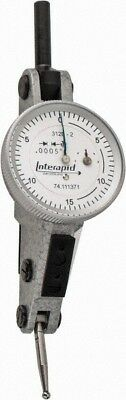 Interapid 0.06 Inch Range 0.0005 Inch Dial Graduation Horizontal Dial Test...