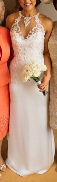 Wedding dress Enzoani size 10
