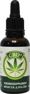 Jacob Hooy CBD Plus olie 30ml