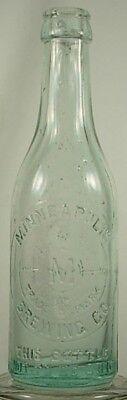 MINNEAPOLIS BREWING CO MINNESOTA BEER BOTTLE CIRCA 1905-1910