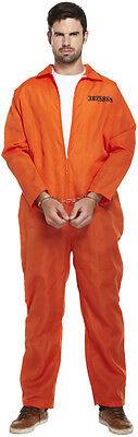 Hirsch Kostüm Halloween (Orange Prison Overall vierstreifen-overall Herren Kostüm Hirsch tun Halloween)