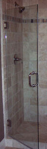 Luxurious Glass Shower Door with Hardware - New! London Ontario image 4