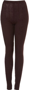 Brand New Topshop cable knit leggings UK 10 in Oxblood