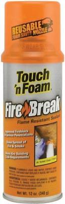New Touch N Foam Firebreak High Heat Expanding Foam Spray Insulation 4338711