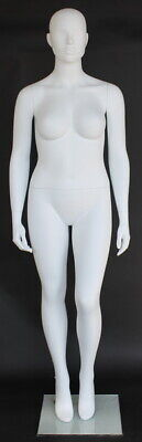 6 Ft 1 In Plus Size Size 12 Female Mannequin Abstract Head Body Torso Plus-55n