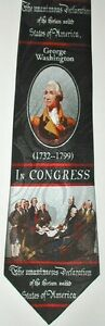 NEW-Declaration-of-Independence-US-History-Teacher-Novelty-Necktie-1917