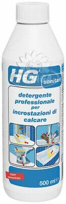 Hg Detergente Profesional Para Incrustaciones de Piedra Caliza 500ML