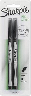 Sharpie - Fine-point Pens 0.7 Mm Black - 2 Pens