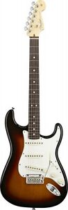 Fender American Standard Stratocaster Electric Guitar 3 Colour Sunburst