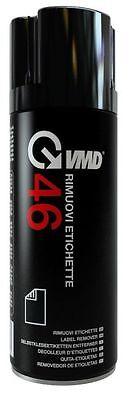 RIMUOVI ETICHETTE SOLVENTE PER LA RIMOZIONE ADESIVI  SPRAY DA 200 ml - VMD 46