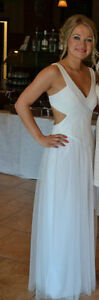 BCBG White dress size 4