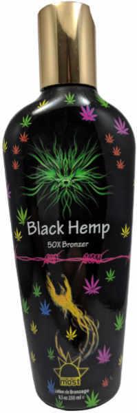 "Most Black Hemp Bronzer 50X Indoor Tanning Bed Lotion ""New"""