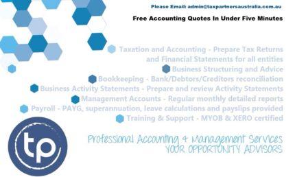 Tax Returns / Financial Accounts / Bookkeeper Burwood Burwood Area Preview