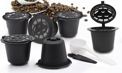 Set De 6 Cápsulas Recargables Café Modelo nespresso - Negro - Nueva