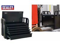Sealey Tools PTB91505 Jobsite Box 5 Drawer Site Box Heavy-Duty Truck Box Van Box van vault lock up