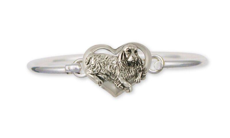 Springer Spaniel Bracelet Jewelry Sterling Silver Handmade Dog Bracelet SS2-HB