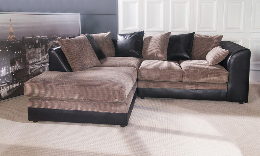 Brand New The Little Byron Corner Sofa In Jumbo Fabric Express Delivery Available