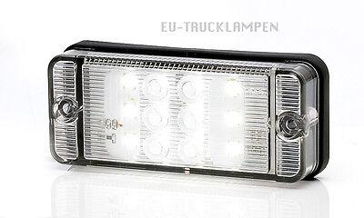 LED RÜCKFAHRLEUCHTE RÜCKFAHRSCHEINWERFER - FÜR 12 ODER 24V - 107x46 mm - 12 LED
