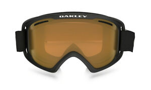 8d2eddc4c74b Oakley Goggles O2 XM 02 Snow Board Ski Matte Black W  Persimmon Lens ...