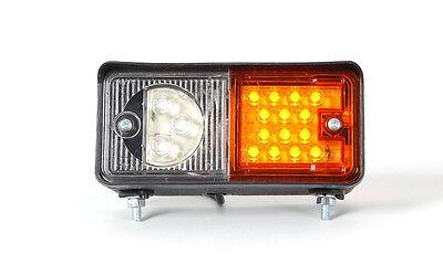 Positionsleuchte Blinklicht LED Stapler Traktor Baumaschinen Landmaschine RECHTS