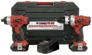 Brand New Lithium 20V Cordless Drill / Impact Driver Combo Kit