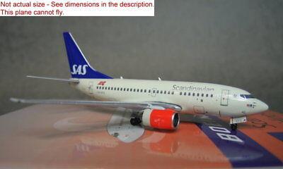 1/400 Panda models quality SAS B737-600 LN-RPZ Diecast metal plane ! for sale  Shipping to Canada