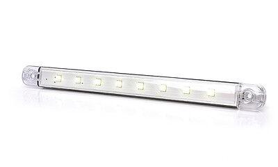 12V + EXTRA DÜNN !! LED INNENRAUMBELEUCHTUNG - 8 LED 238 mm - INNENRAUMLEUCHTE