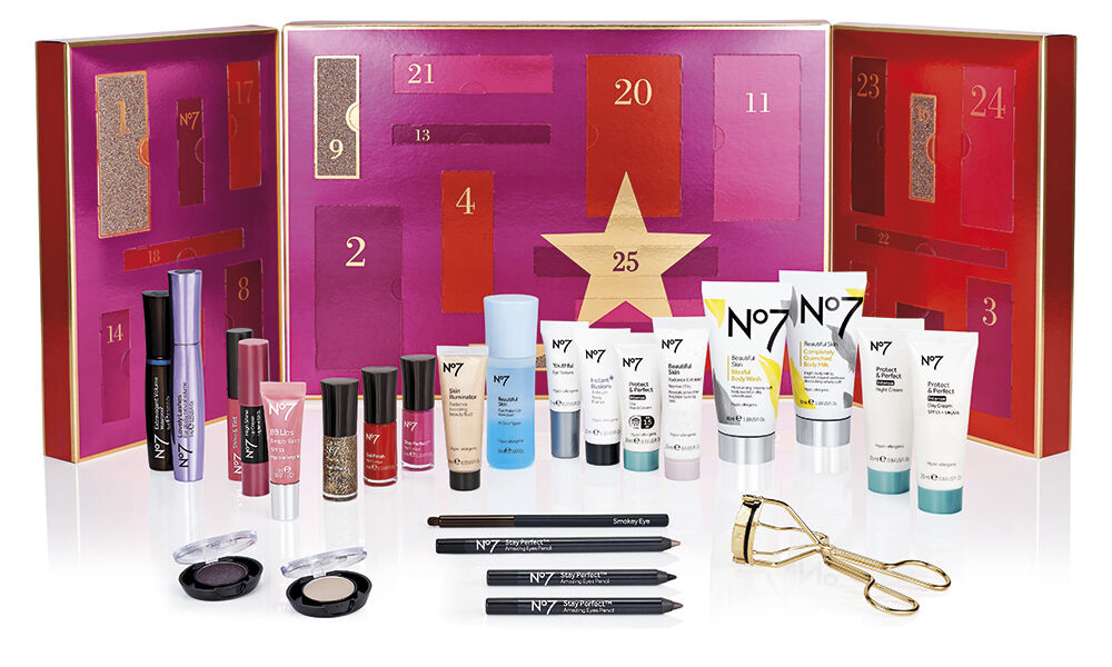 Boots No7 Beauty Advent Calendar 2017 Sold Out Online 148 Of Products