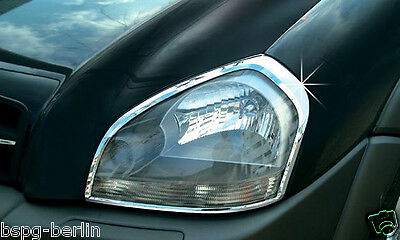 Accesorio para Hyundai Tucson 2004-2010 Cromo Faro Marco Parabrisas Tuning