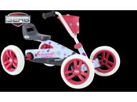 BERG BUZZY BLOOM PEDAL GO KART 2-5YRS BRAND NEW FULLY ASSEMBLED