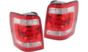 2008 Ford Escape Tail Light, Tail Lamp Right = Passenger Side / Used | Clean & Undamaged