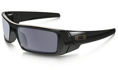 NEW Oakley Gascan Sunglasses Polished Black / Grey Lens, 03-471 for sale  Shipping to India