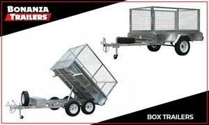 Box Trailers Sale - New Galvanised Heavy Duty Welshpool Canning Area Preview