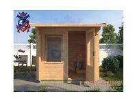 Aylsham Log Cabin | 2.5m x 2.5m