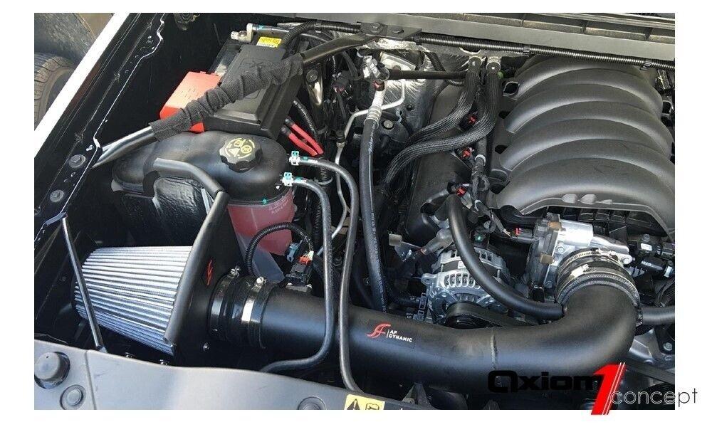 Heat Shield AF Dynamic Air intake *Red* for Silverado Sierra 1500 14-18 4.3L V6