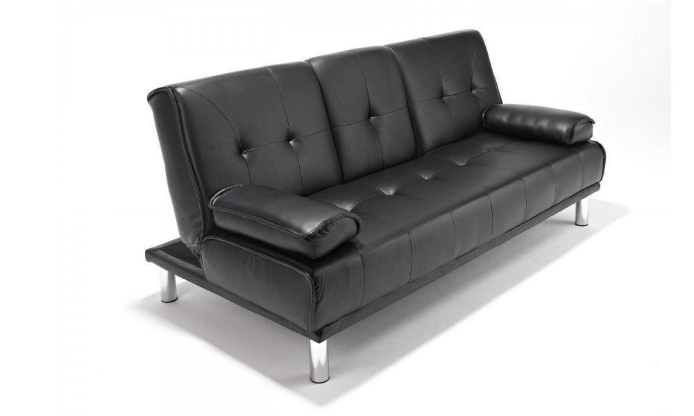 Brand New 3 Seater Cinema Style Leather Sofa