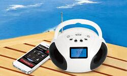 Bluetooth Speaker LCD FM Radio KOCASO Mini Speaker Alarm Clock Hands-Free Call