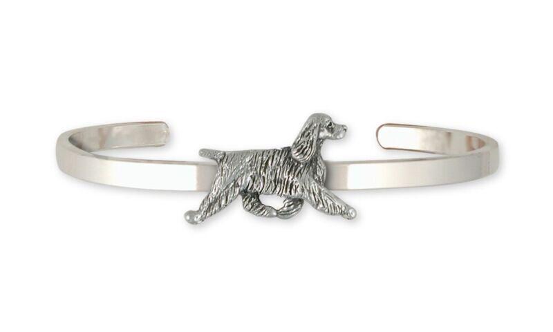Springer Spaniel Bracelet Jewelry Sterling Silver Handmade Dog Bracelet SS8-CB