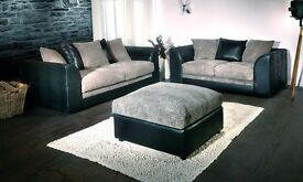 **7-DAY MONEY BACK GUARANTEE!**- Benson 3 and 2 Sofa Set or Corner Suite - SAME/NEXT DAY DELIVERY!