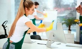 Domestic and Commercial cleaning services/Fully insured cleaners/ £12/h