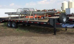 2015 Diamond C FMAX 207 25'x102 Equipment Hauler Trailer