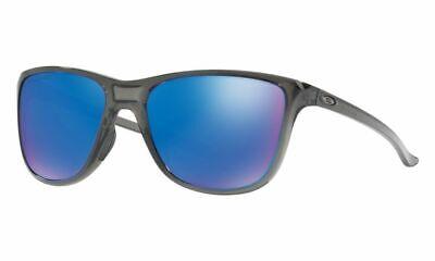 Oakley Reverie POLARIZED Sunglasses OO9362-0655 Grey Smoke W/ Sapphire Iridium (Oakley Ladies Polarized Sunglasses)