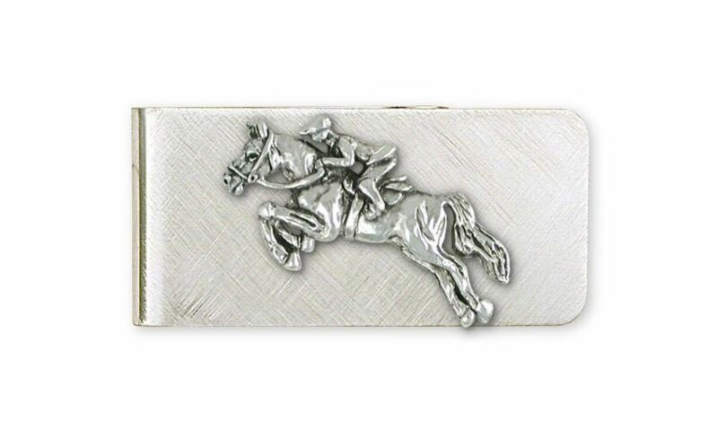 Horse Money Clip Jewelry Sterling Silver Handmade Horse Money Clip JH1-MC