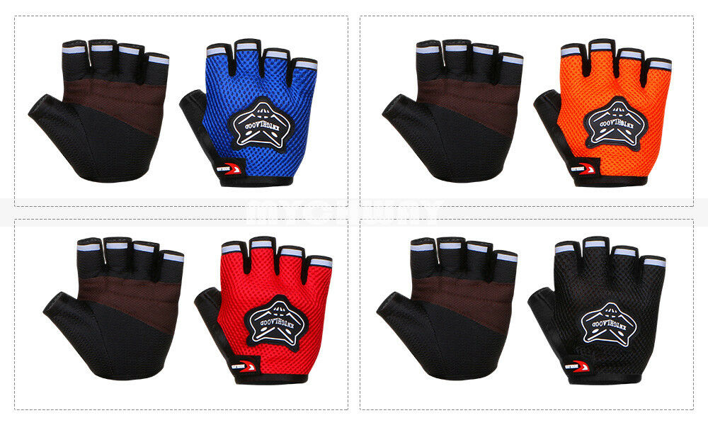 Cycling Gloves Half Finger Mountain Bike Bicycle Gloves Raci