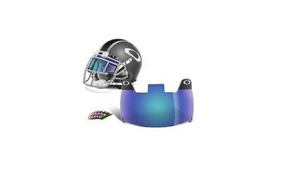 6b3717bde626 OAKLEY NEW BLUE Football Visor Eyeshield  Lacrosse Eye-Shield FREE  SHIPPING!!