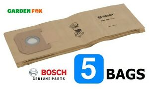 savers Bosch GAS35 Dust Extractor 5 PAPER FILTER BAGS 2607432035 3165140713580